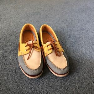 Sperry Topsider Gold Cup Boat Shoes Sz 9.5